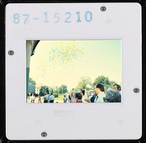 Image of Quadrangle Opening Day - Balloon Release