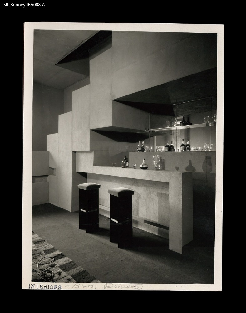 Private bar in a domestic room setting. France, circa 1927. Atelier ...
