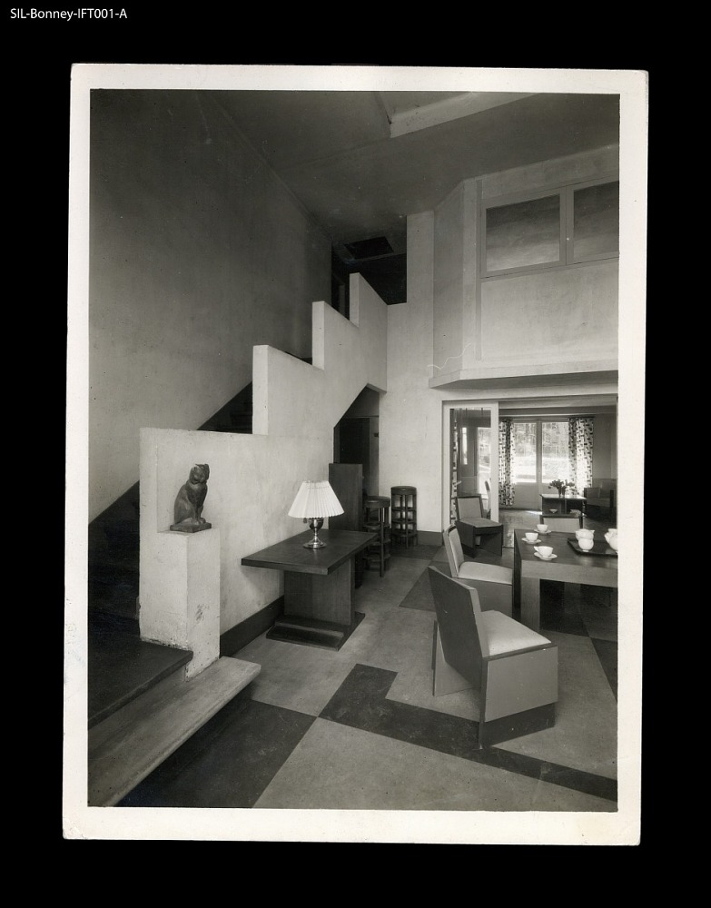 Hallway. France, circa 1927. Georges Djo-Bourgeois, architect and ...