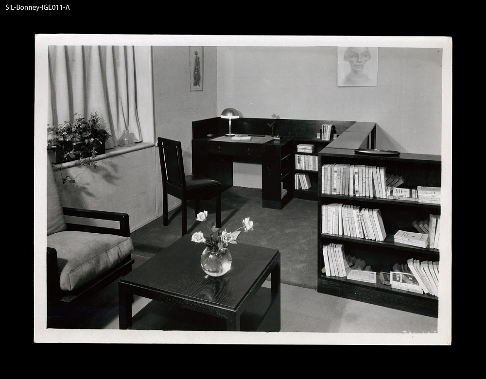 Interior Amsterdam The Netherlands Circa 1925 Study Room Willem Penaat Designer