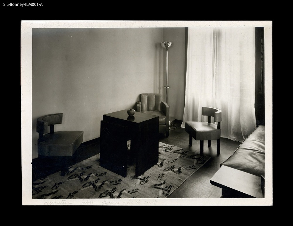 Living Room or salon. France, 20th century. M. Weil residence. Jean ...