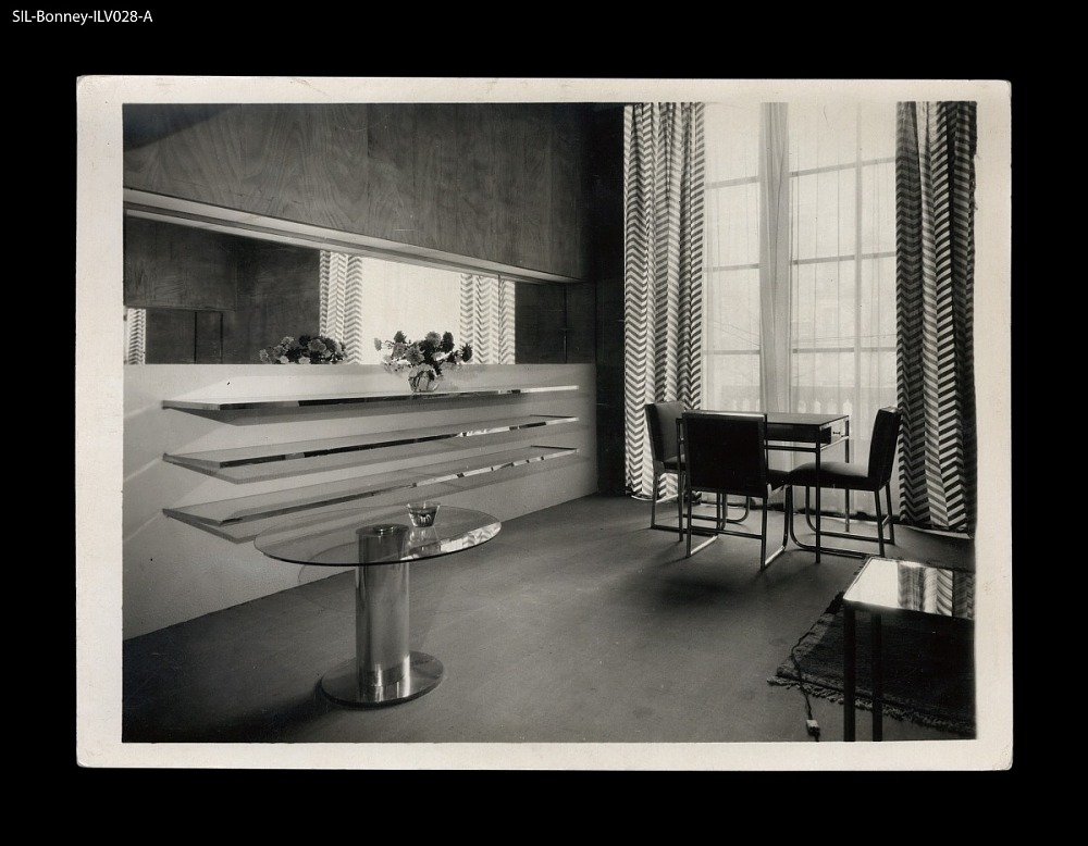 Living room. Paris,circa 1928. Salon d\'Automne installation ...