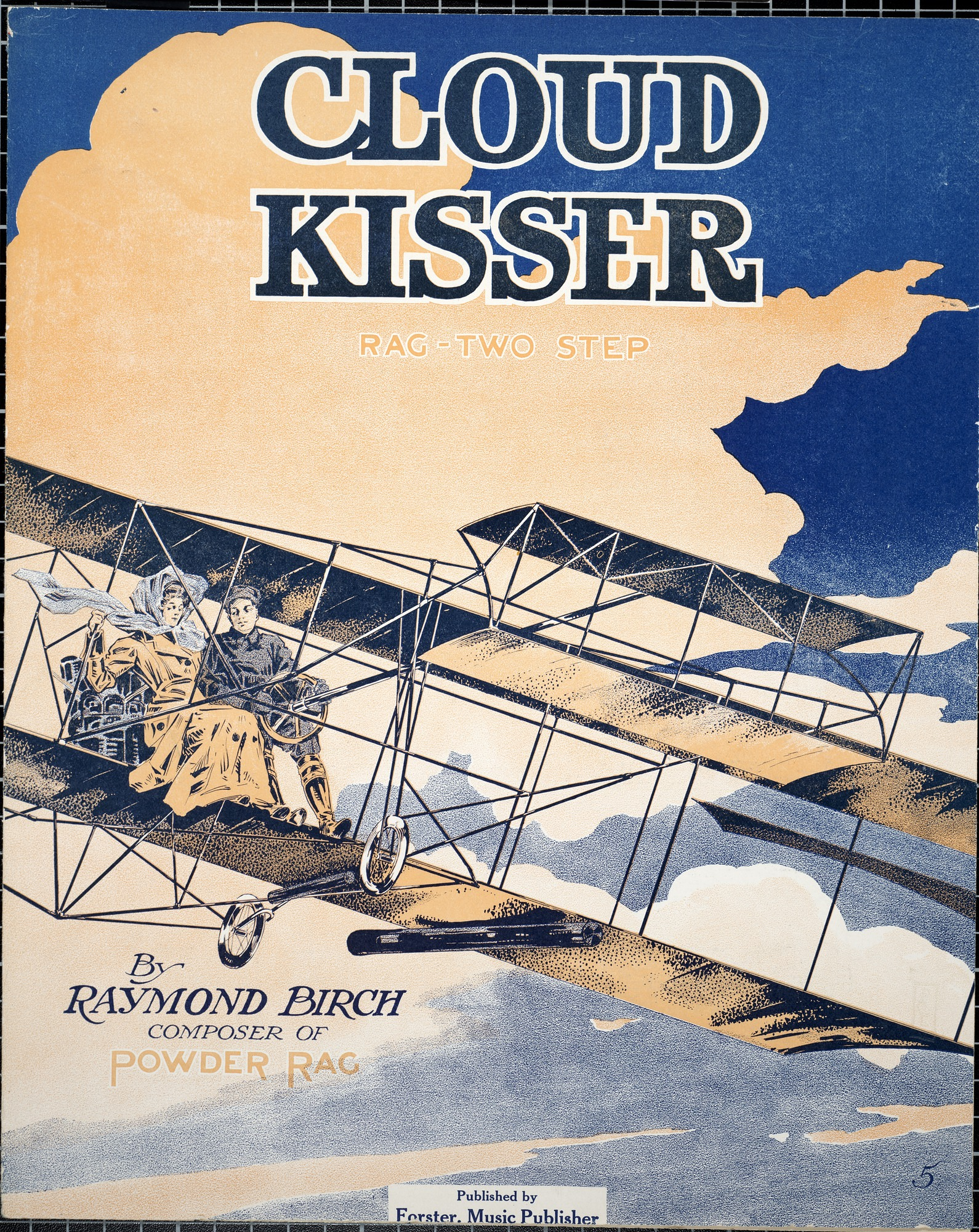 Cloud kisser : rag, two step / by Raymond Birch
