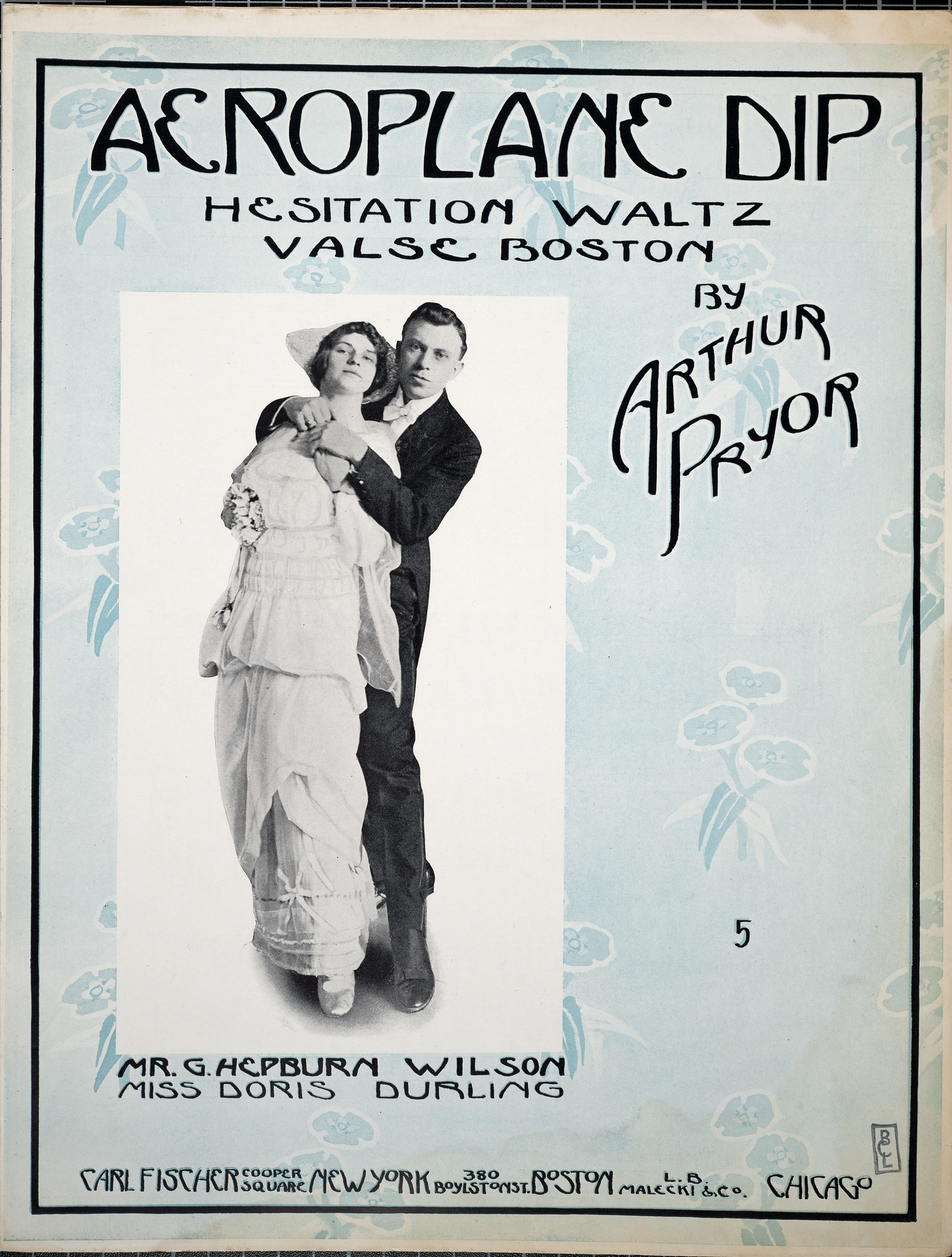 Aeroplane dip : hesitation waltz : valse Boston / by Arthur Prior
