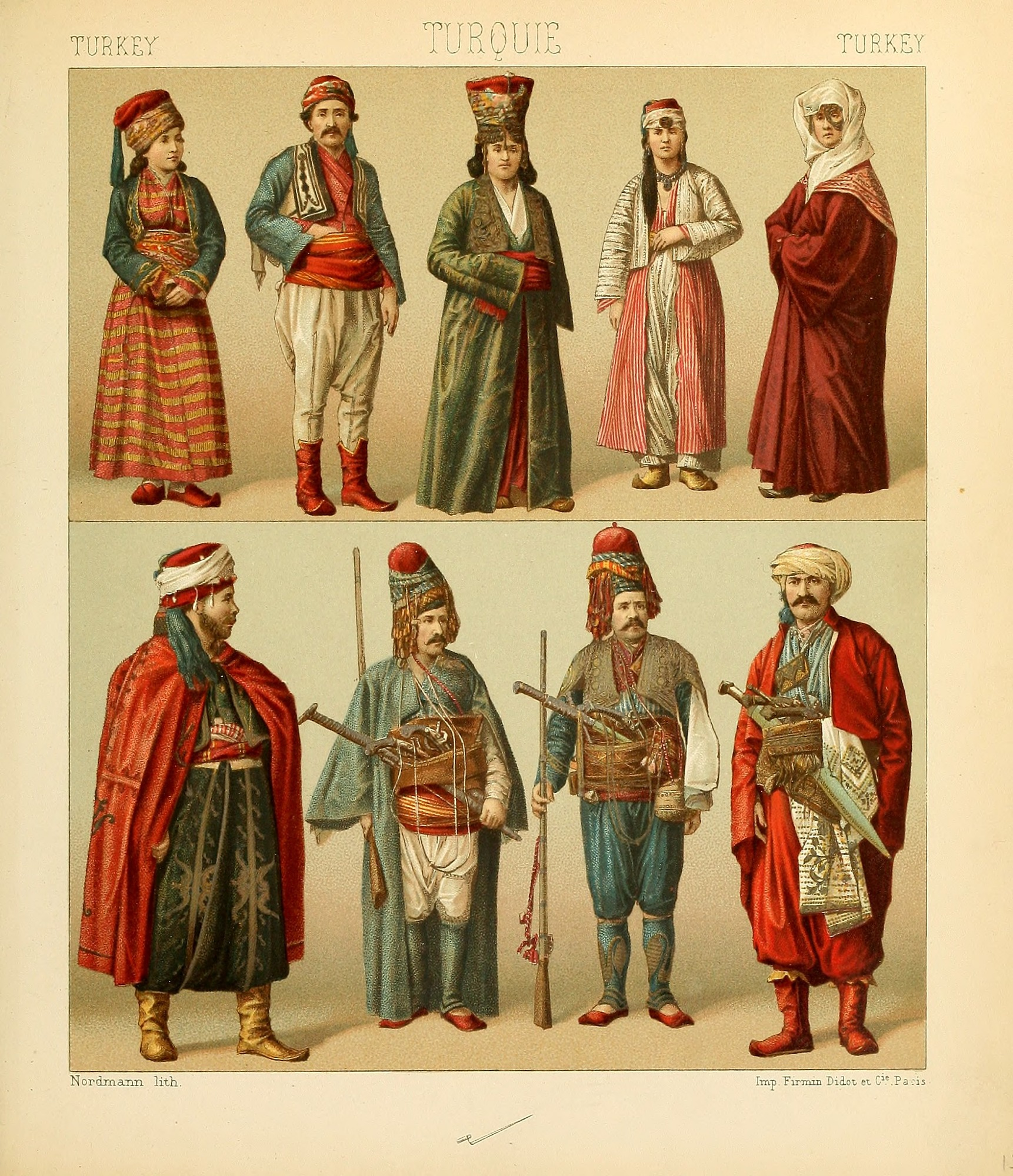 Turkish costumes from Turkish costumes.