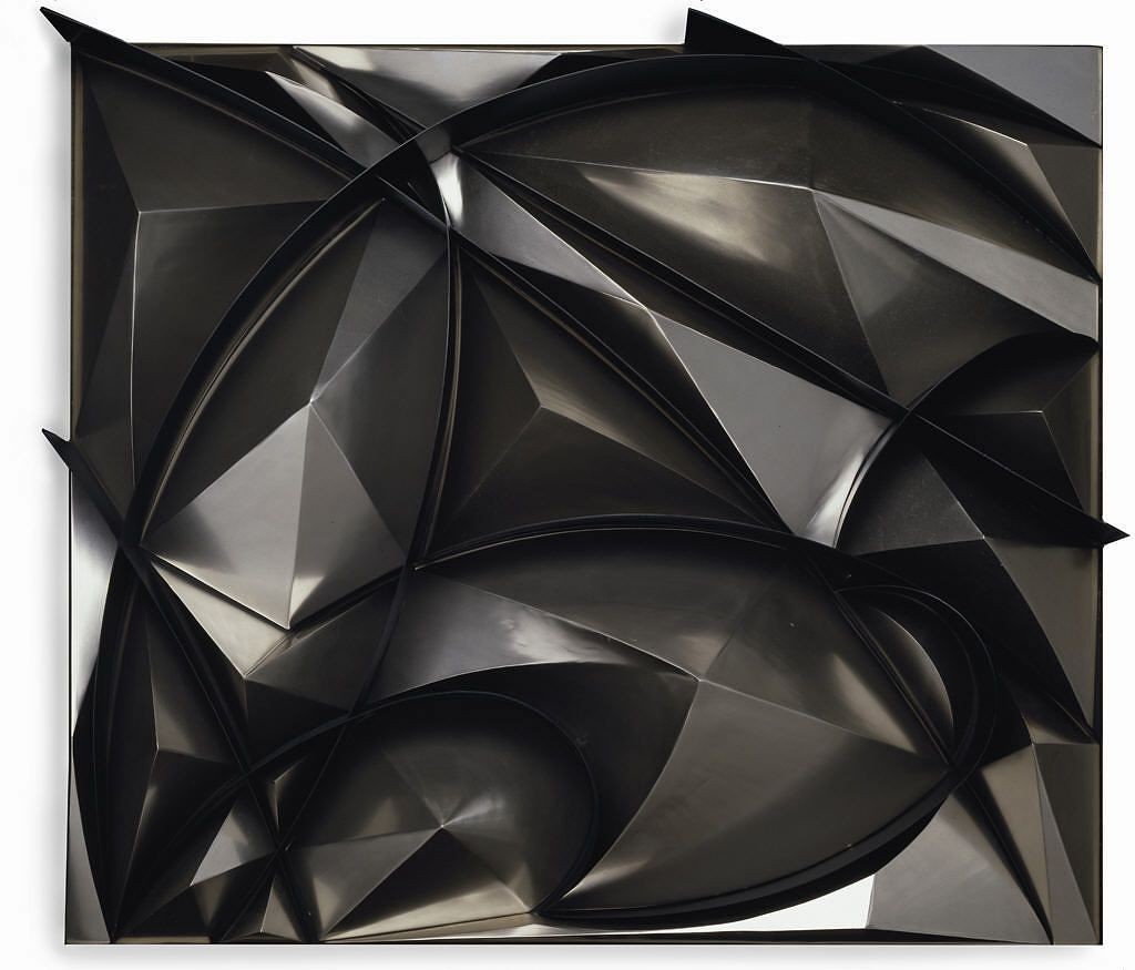 "Giacomo Balla, ""Sculptural Construction of Noise and Speed,"" (1914-1915)/(reconstructed 1968)"