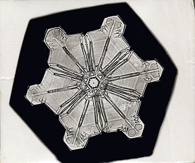 Star Crystal Snowflake