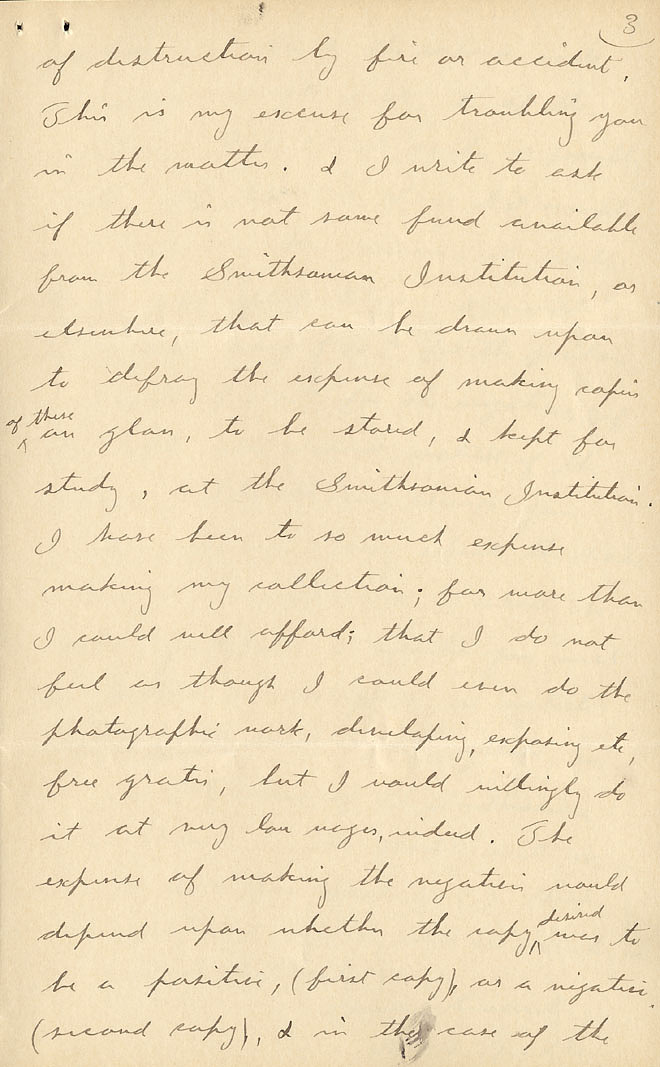 Wilson A. Bentley Letter - Dec 15, 1904 - Page 3