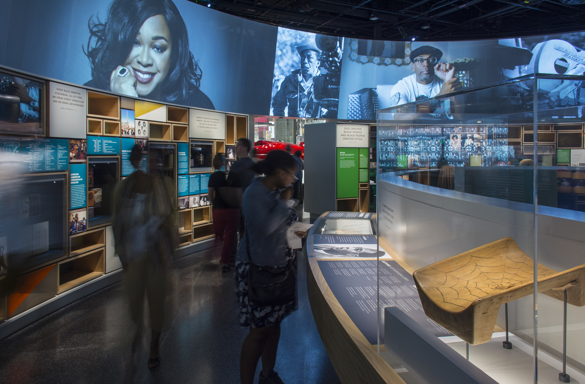 Cultural Expressions Exhibit, NMAAHC