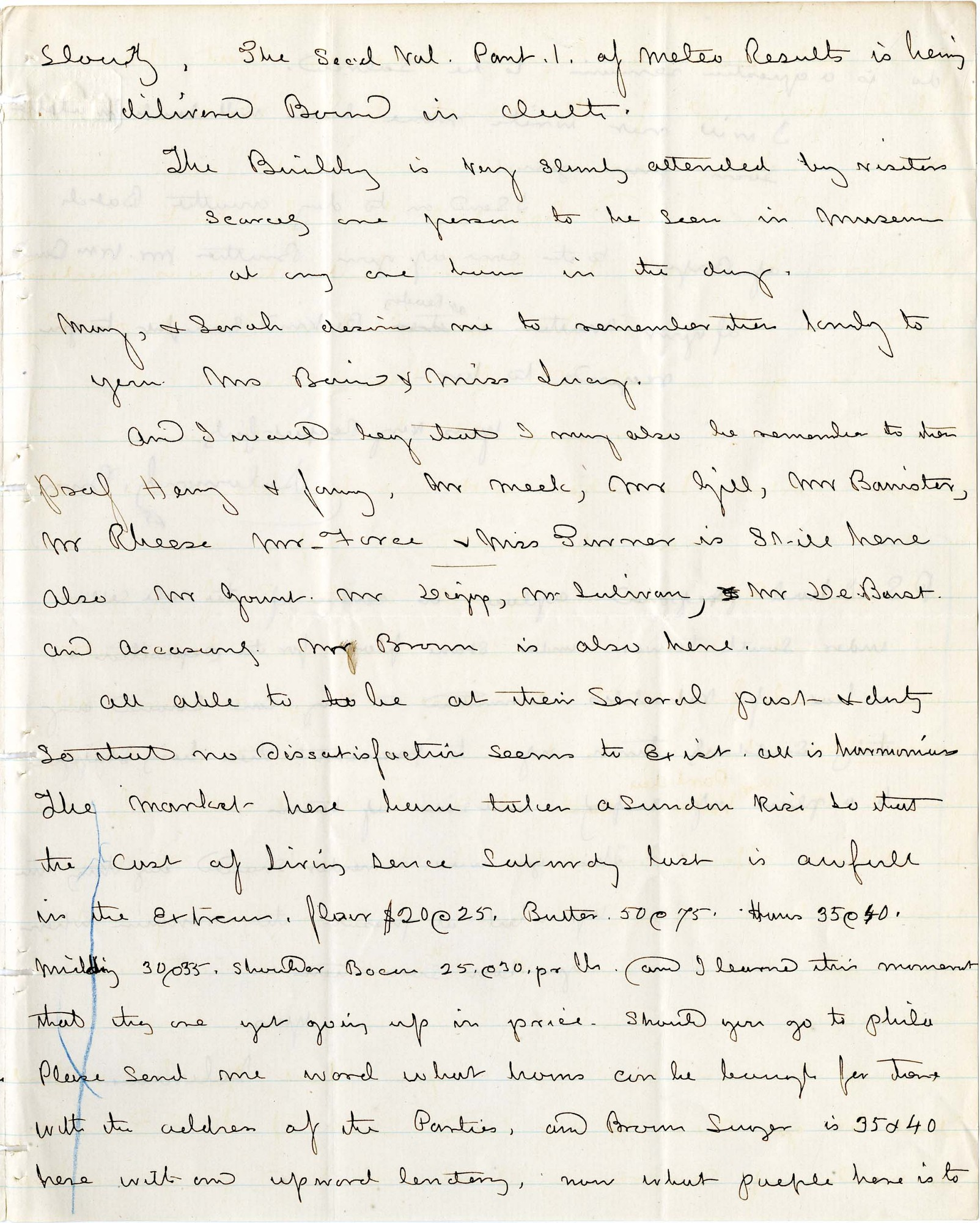 Solomon Brown Letter - July 15, 1864 - Page 3