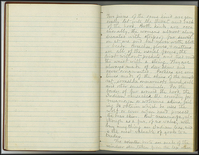 William Dall Diary, Indian Life - Oct 1866-May 1867 - Page 2