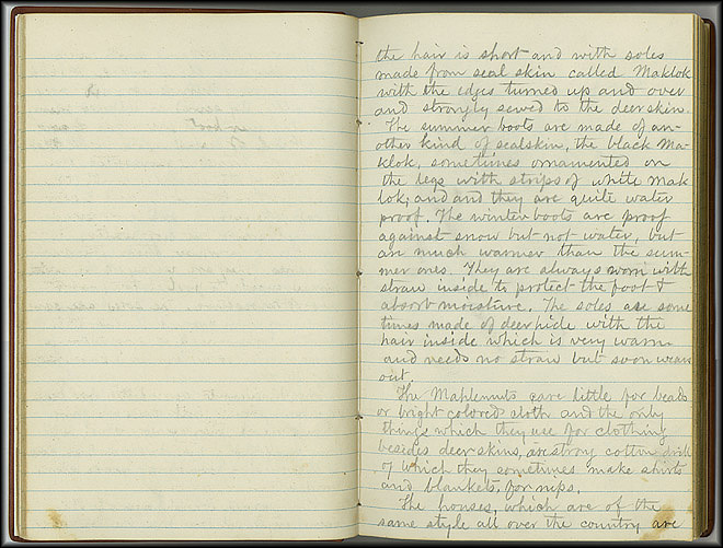William Dall Diary, Indian Life - Oct 1866-May 1867 - Page 3