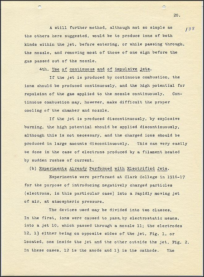 Robert Goddard Report  - March 1920 - Page 20