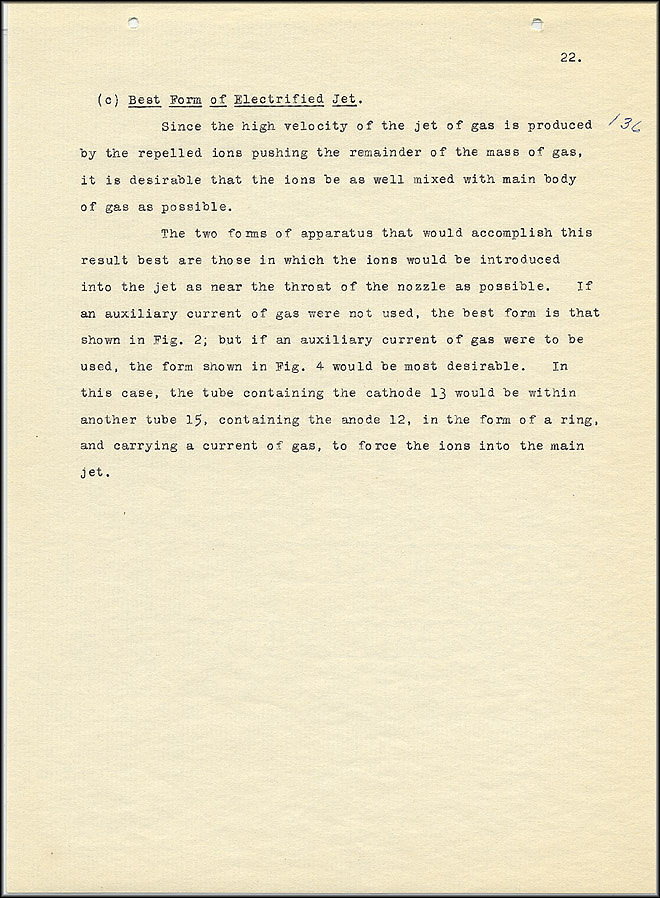 Robert Goddard Report  - March 1920 - Page 22