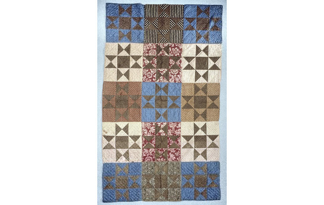 1863 Susannah Pullen's Civil War Quilt