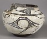 Polychrome Ceramic Bowl,  Name: No Information,  Date: 1990s from NMNH - Anthropology Dept. ... See More