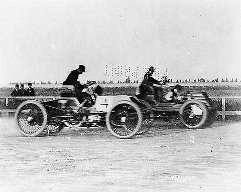 Henry Ford racing Alexander Winton