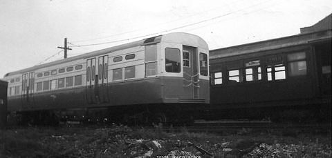 Delivery of Car #6719 to the Chicago Transit Authority