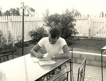 Pete Koltnow writing home