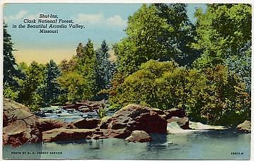 Postcard from Arcadia Valley, MO