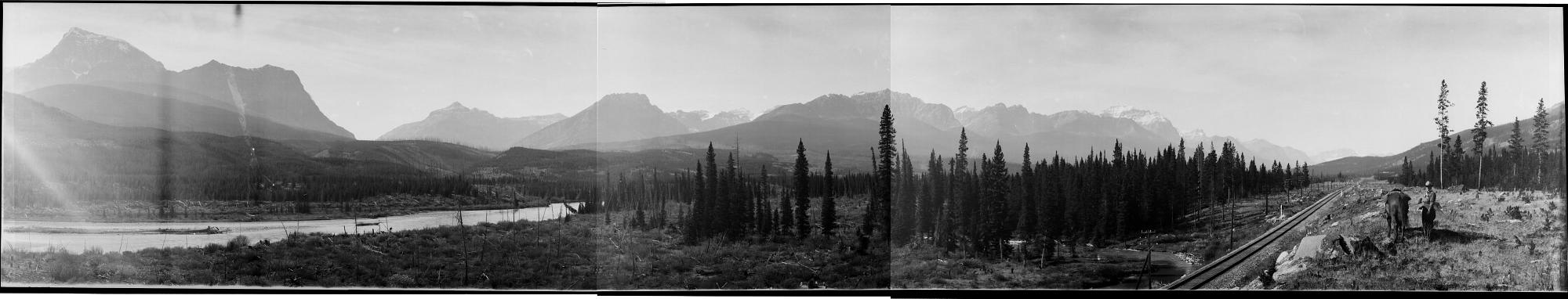 Northeast End of Bow Lake, Canada, 1918
