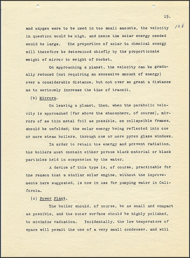 Robert Goddard Report  - March 1920 - Page 15