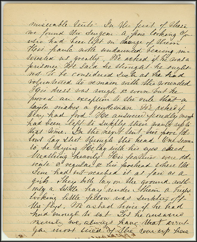 Mary Henry Diary, Southern Army - July, 1864 - Page 12