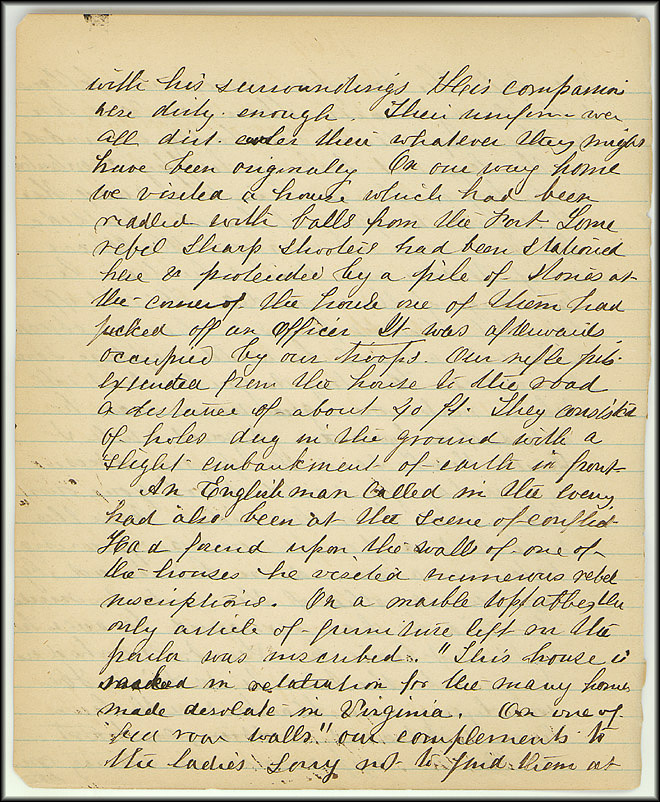 Mary Henry Diary, Southern Army - July, 1864 - Page 14