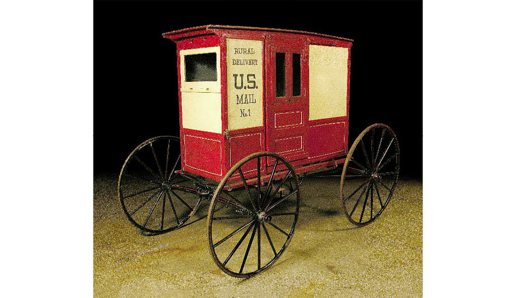 Rural Free Delivery wagon model