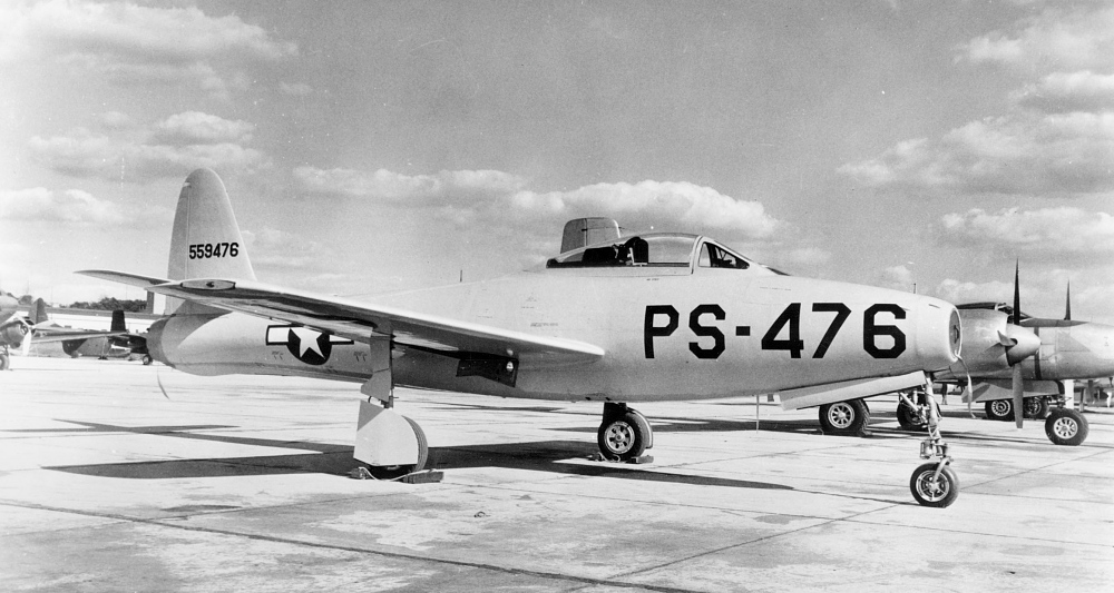 Republic XP-84 Thunderjet,Republic XP-84 Thunderjet
