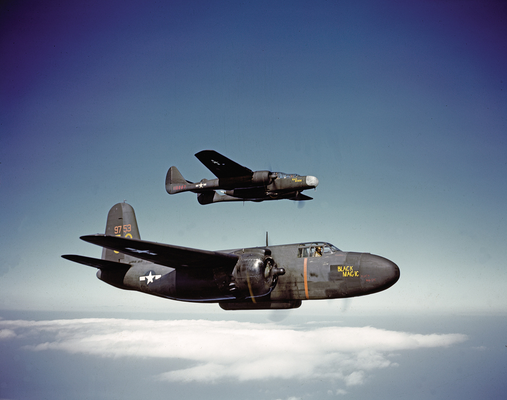 Northrop P-61C Black Widow