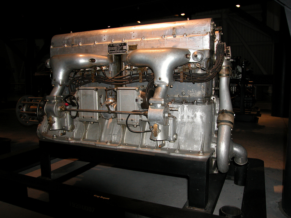 King-Bugatti U-16 Engine
