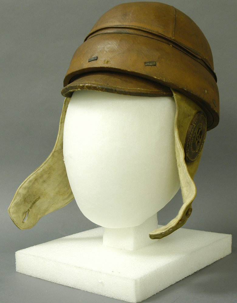 Helmet, Flying, Protective, French Air Service,Helmet, Flying, Protective, French Air Service