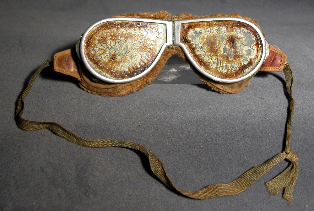 Goggles, Flying, United States Navy, Cdm. Albert Read, NC-4