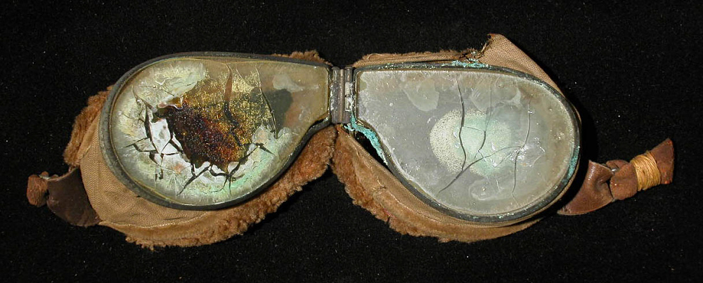 Goggles, Flying, United States Army Air Service,Goggles, Flying, United States Army Air Service