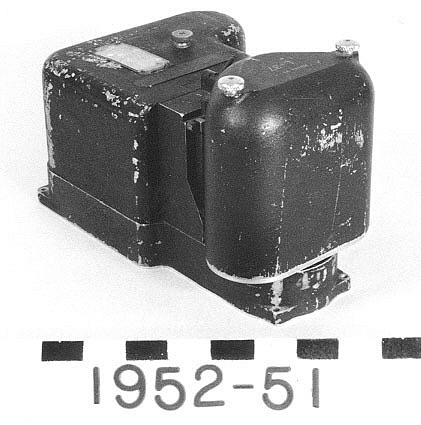 Accelerometer With Film Drum, Bell X-1,Accelerometer With Film Drum, Bell X-1