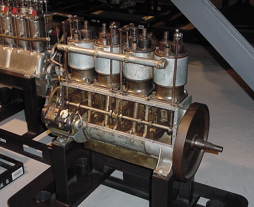 Wright Vertical 4, In-line 4 Engine,Wright Vertical 4, In-line 4 Engine