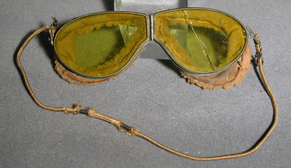 Goggles, Flying, United States Army Air Service, Gen. William Mitchell