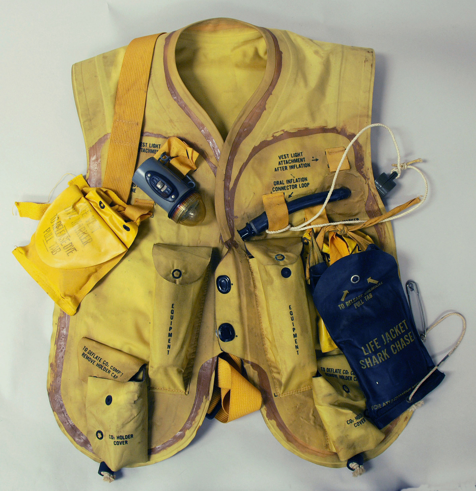 Life Vest, Pneumatic, Mark 2, United States Navy