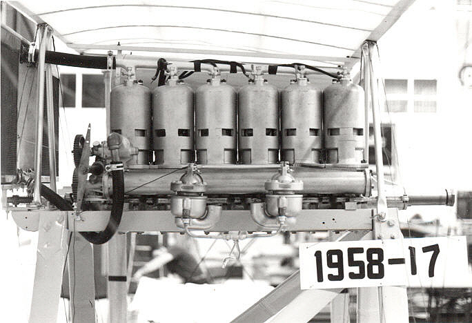 Roberts 6X, In-line 6 Engine,Roberts 6X, In-line 6 Engine