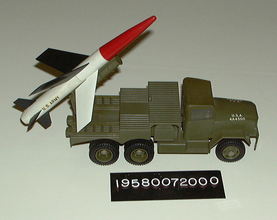 Model, Missile, La Crosse with Launch Truck,Model, Missile, La Crosse with Launch Truck