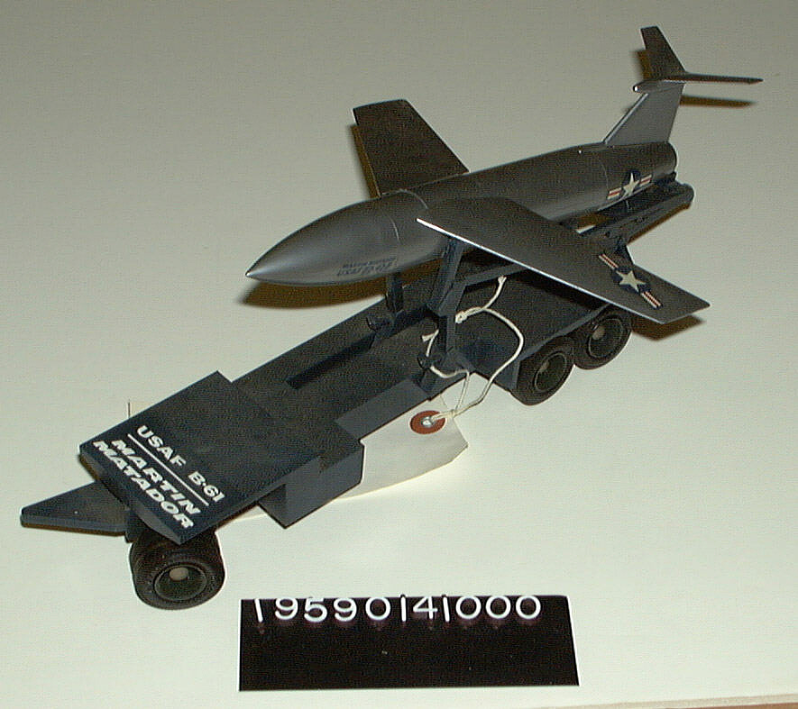 Model, Missile, Matador with Trailer