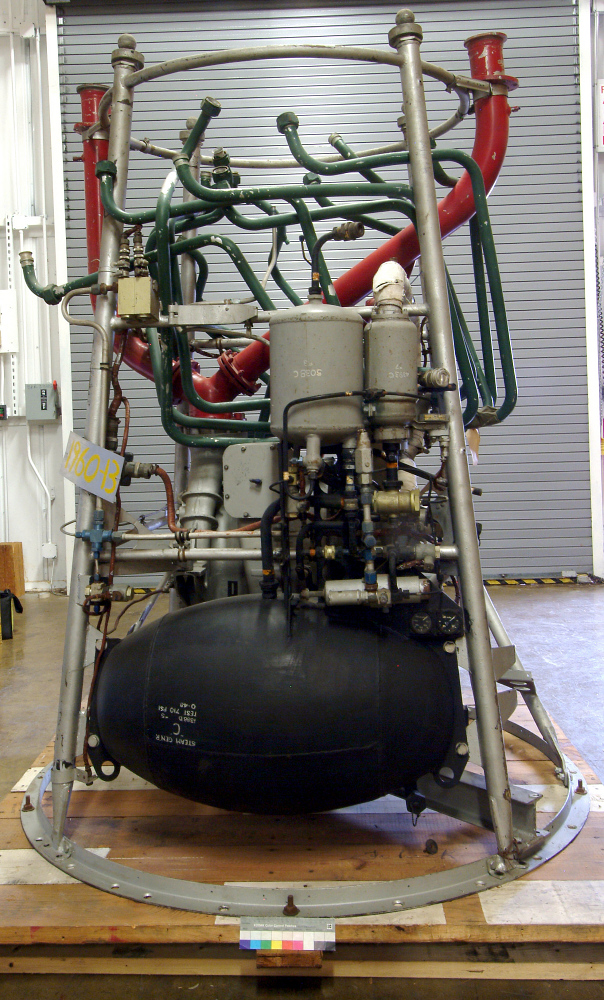 Turbopump, Steam Generator and Frame, V-2 Rocket Engine,Turbopump, Steam Generator and Frame, V-2 Rocket Engine