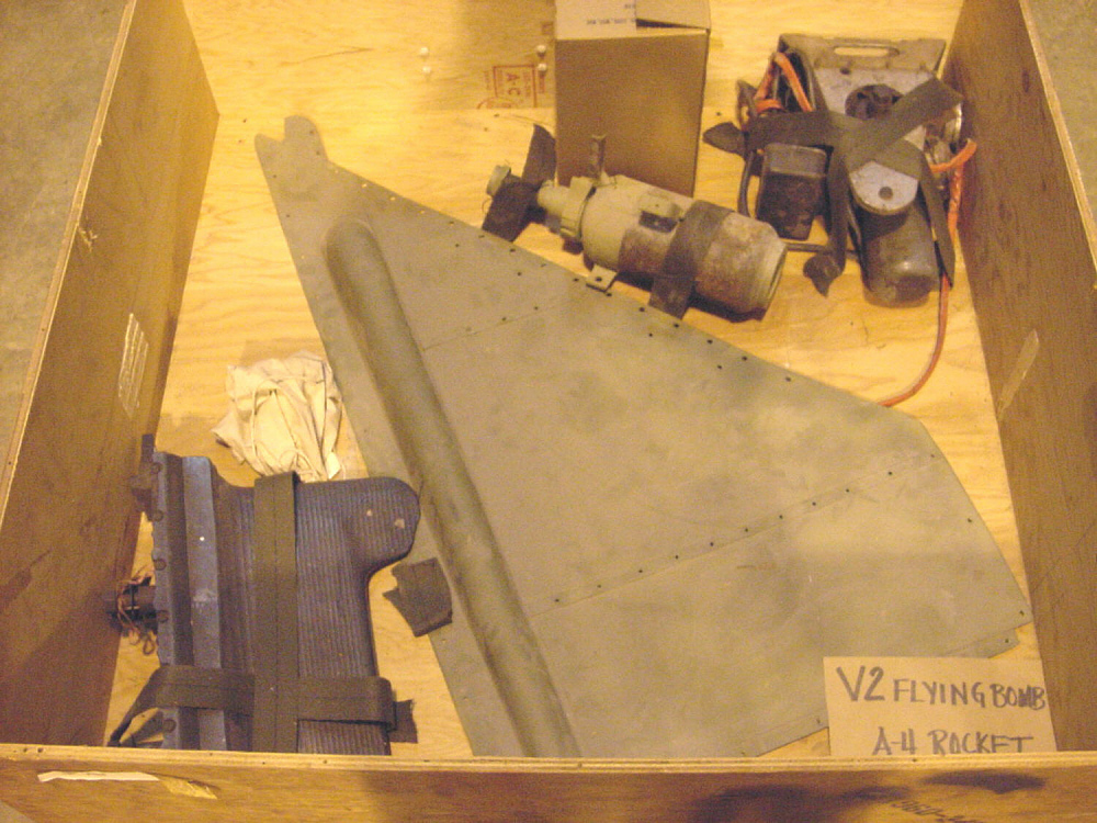 Missile, Surface-to-Surface, V-2 (A-4), Miscellaneous Parts