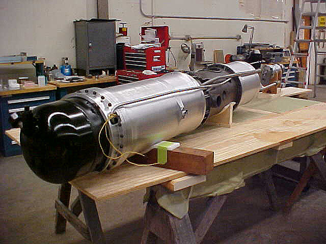 Propellant Tanks and Engine, BMW 109-558