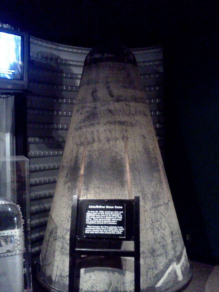 Reentry Vehicle, Jupiter IRBM, Able-Baker