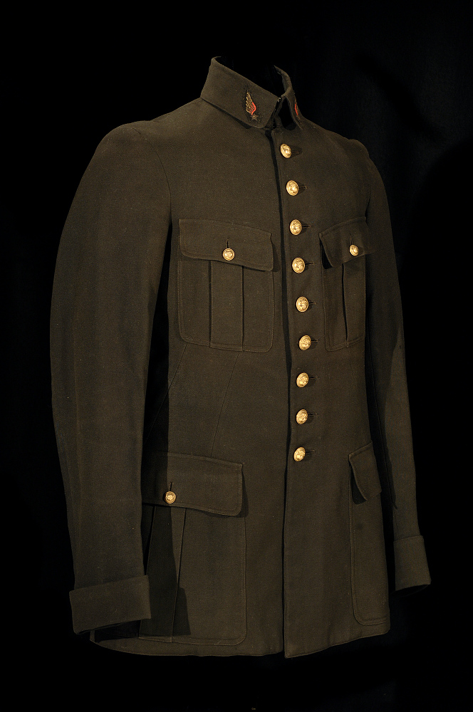 Coat, Service, French Air Service, Kiffin Rockwell, Lafayette Escadrille