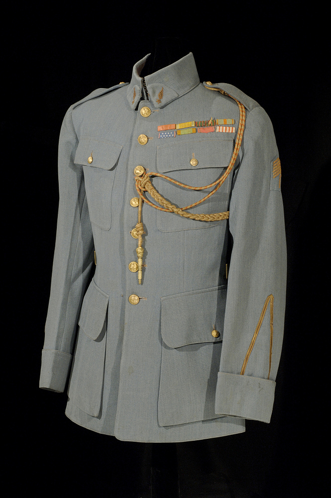 Coat, Service, French Air Service, Lafayette Escadrille, Harold B. Willis