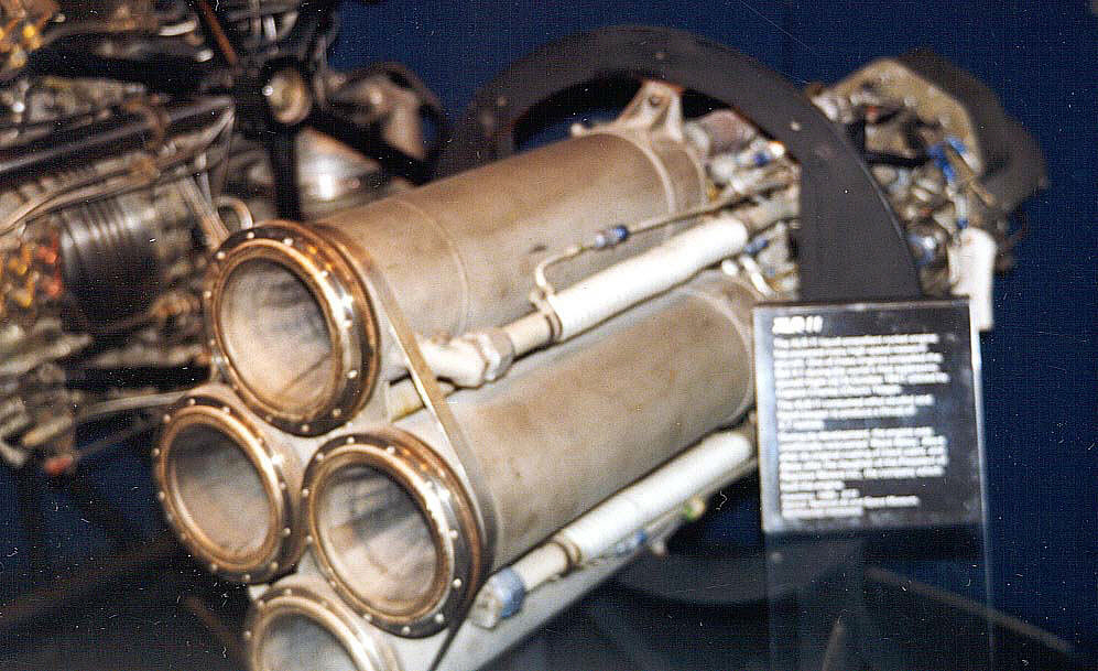 Rocket Engine, Liquid Fuel, XLR-11-RM-9