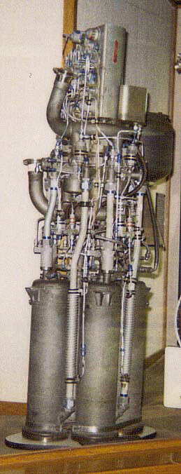 Rocket Engine, Liquid Fuel, XLR-11